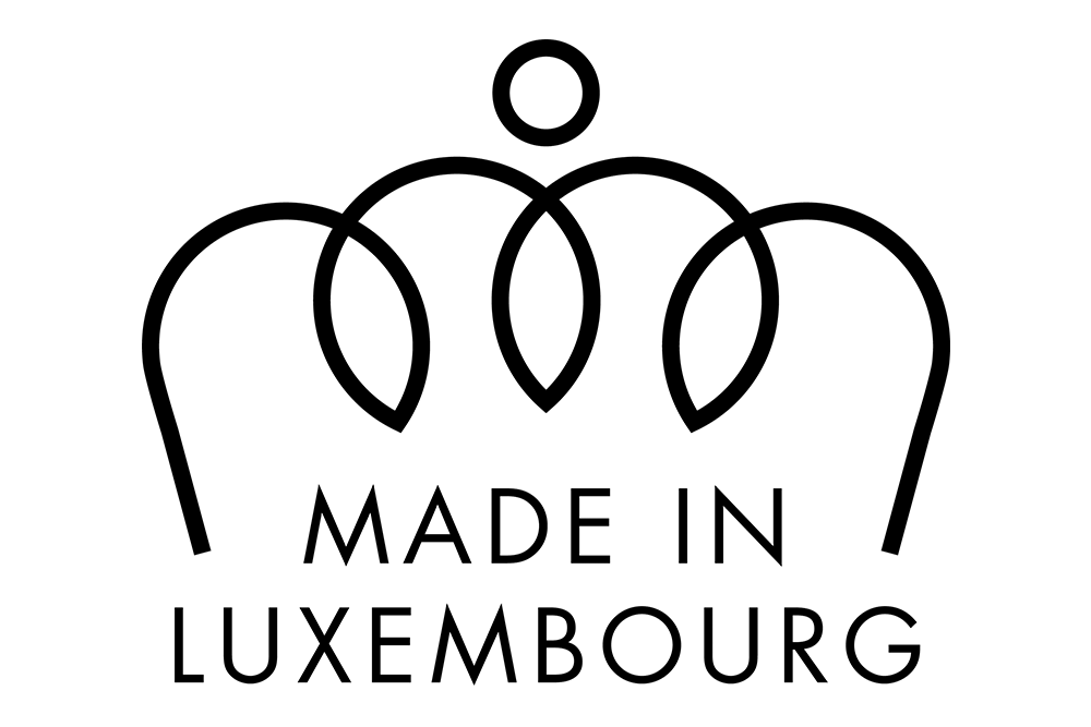 Made in Luxembourg label